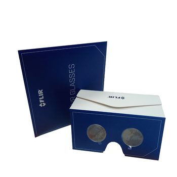 Foldable diy google cardboard virtual reality 360 viewing 3d glasses VR Toolkit