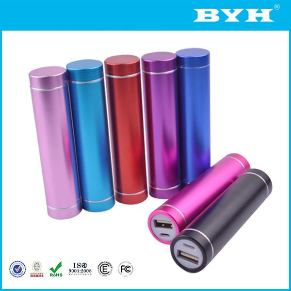 high quality power bank maker with flash mobile light 2600