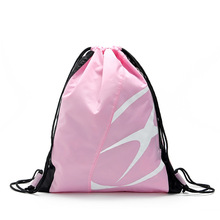 Wholesale fashion watwerproof drawstring backpack for travel and sports