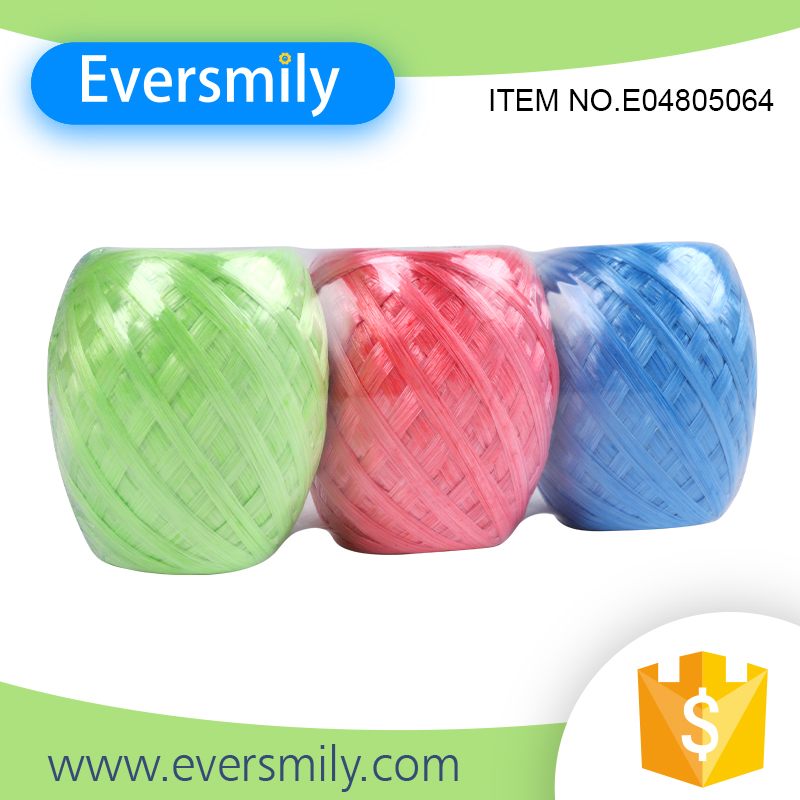 High quality eco-friendly colorful twine PP packing rope with low price
