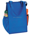 Eco-friendly non-woven promotional cooler bag with side pockets