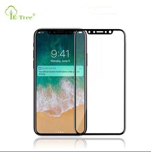 New Arrival Full cover 3D Curved Protective Film Screen Protector For iPhone X, For iPhone X Tempered Glass