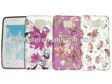 For SamSung Galaxy S2 i9100 Flower Design TPU Case