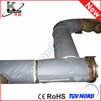 customized waterproof color foam pipe insulation