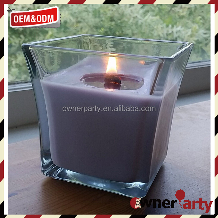 Customized Wholesale Eco Friendly Woodwick Candles