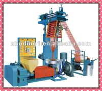 Two-color Plastic PE Film blowing extrusion machines with extruder