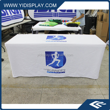 Vinyl table cloth printed with flannel backing for USA Market