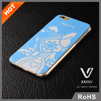 Mobile accessories custom design Best Plastic Silicone cell phone case for iphone 6 bumper case wood catoon