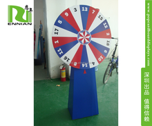New Design Wheel of Fortune / Lucky Turntable for lottery / promotion activities Cardboard