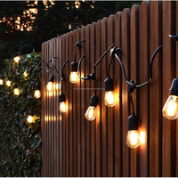 Outdoor decorative led bulb wedding christmas party light string