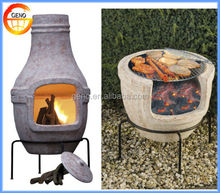 commercial garden clay chiminea wholesale