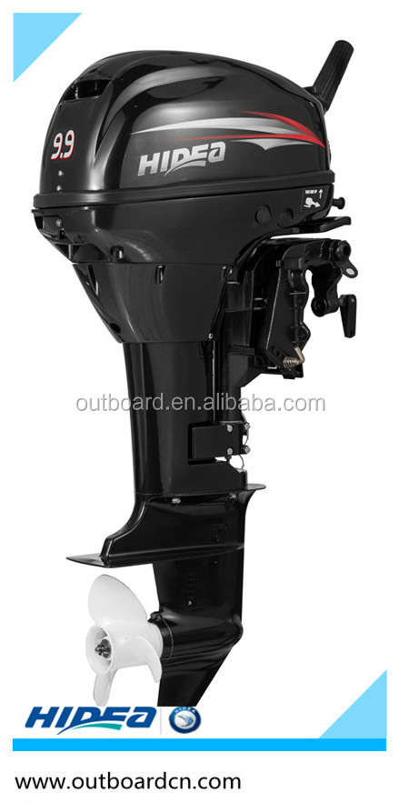 Hidea high quality popular 2stroke outboard motor for 6hp outboard motor electric start