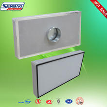 Ceiling Mini Pleat Hepa Replacement Filter Electrostatic For Plant