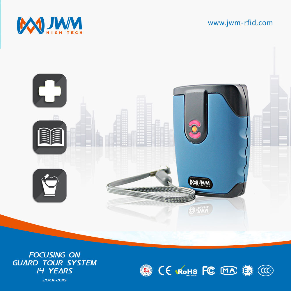 JWM factory price intelligent night patrol clocks for nurse