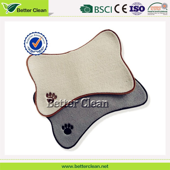 Foam cover softable pet bowl flooring animal mat