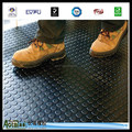 Coin Pattern round button studded rubber flooring mat
