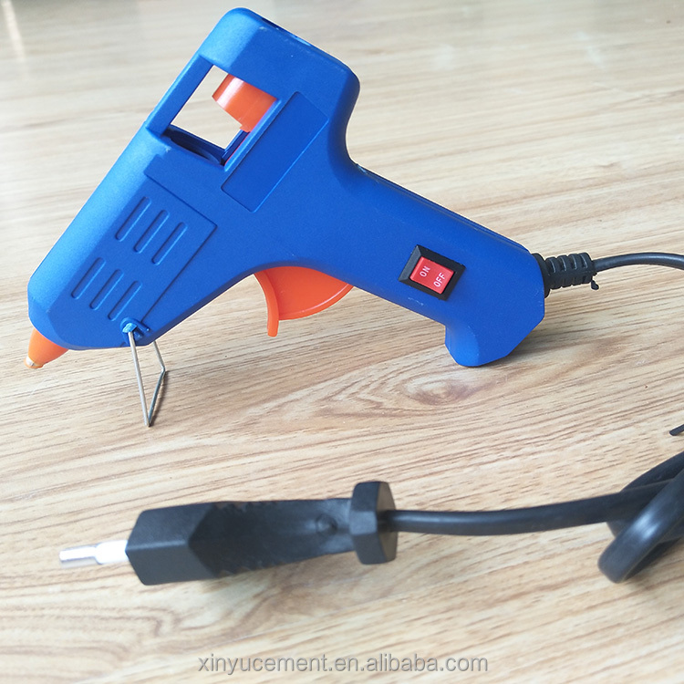 20W Blue Color Hot Pistol Glue Gun For Toys
