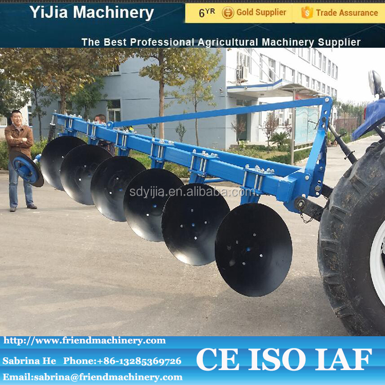 3 point linkage tractor mounted 6 disc plow for sale