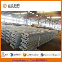 Prefabricated galvanized welded steel roof trusses