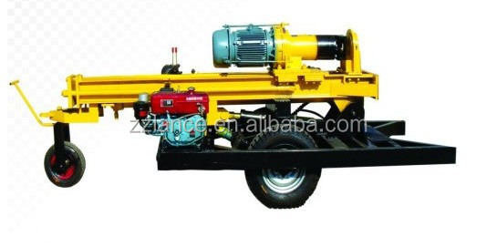 La-dr200D used water drilling equipment / rock drilling machine with video