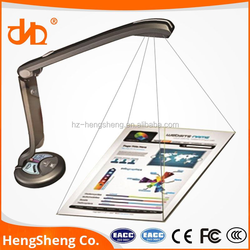 Dimmable led light visual presenter Portable CamScanner Light weight WIFI Visual Presenter