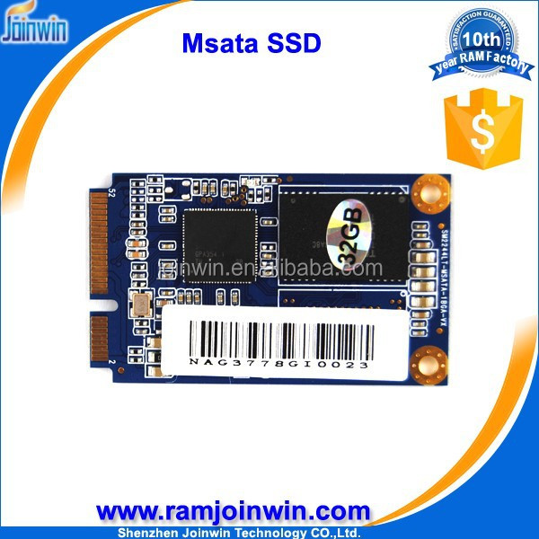Online stock 270MB/s Sequential Read mlc MSATA 32gb ssd internal