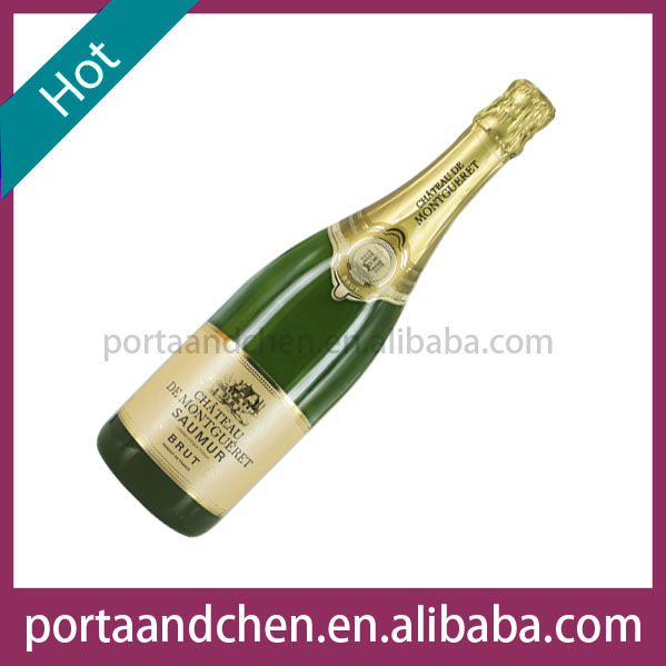Red wine company brand names of red wines France Champagne - CHATEAU DE MONTGUERET AOP Saumur Brut