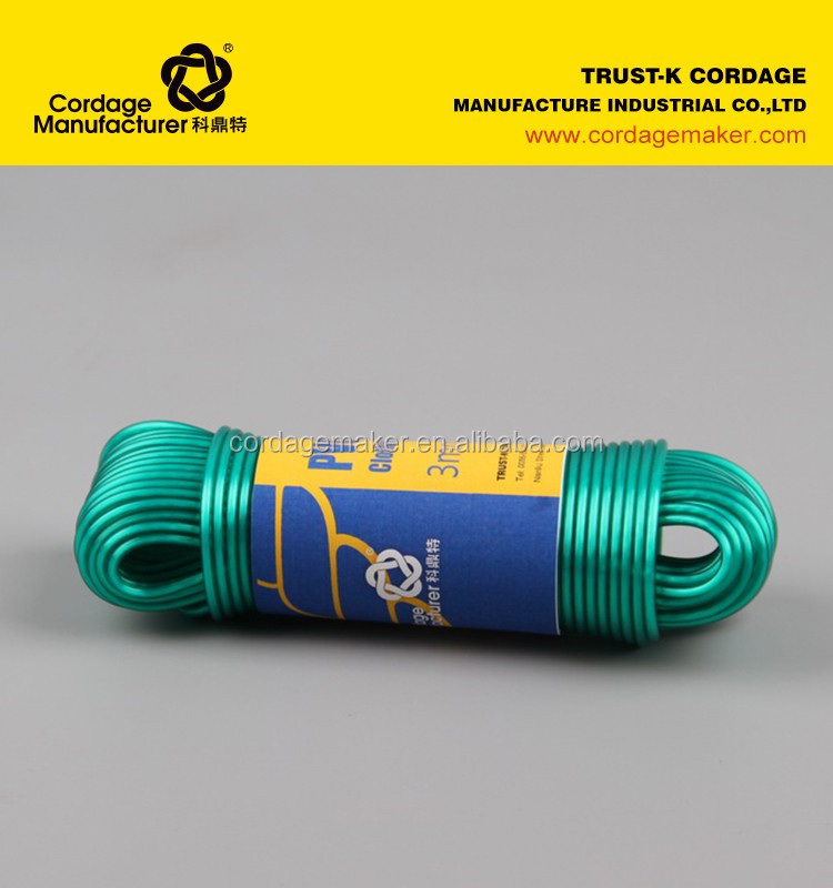 plastic rope with best price hank 15m-20m