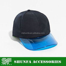 UV PROTECTION TRANSPARENT TPU CAP VISOR