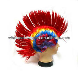Wholesale Colorful Synthetic Comb Wig