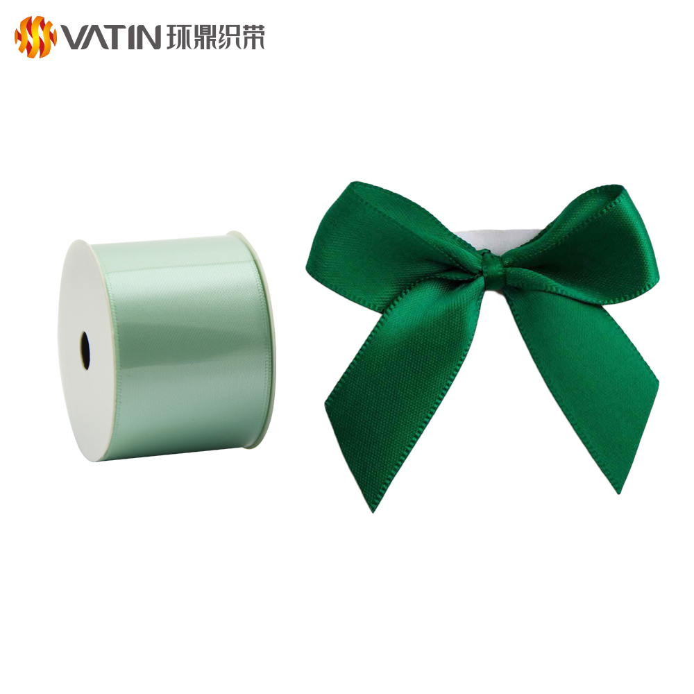 Hair Accessories DIY Material Party Decoration Gift Custom Satin Ribbon