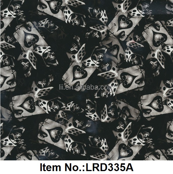 Amazing Latest Design Hydro Dipping/Water Transfer Printing Film No.LRD335A