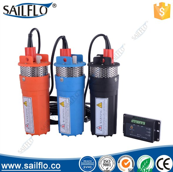 Sailflo 2V 24V 200FT Submersible DC Solar Deep Well Water Pump Three Color High Quality