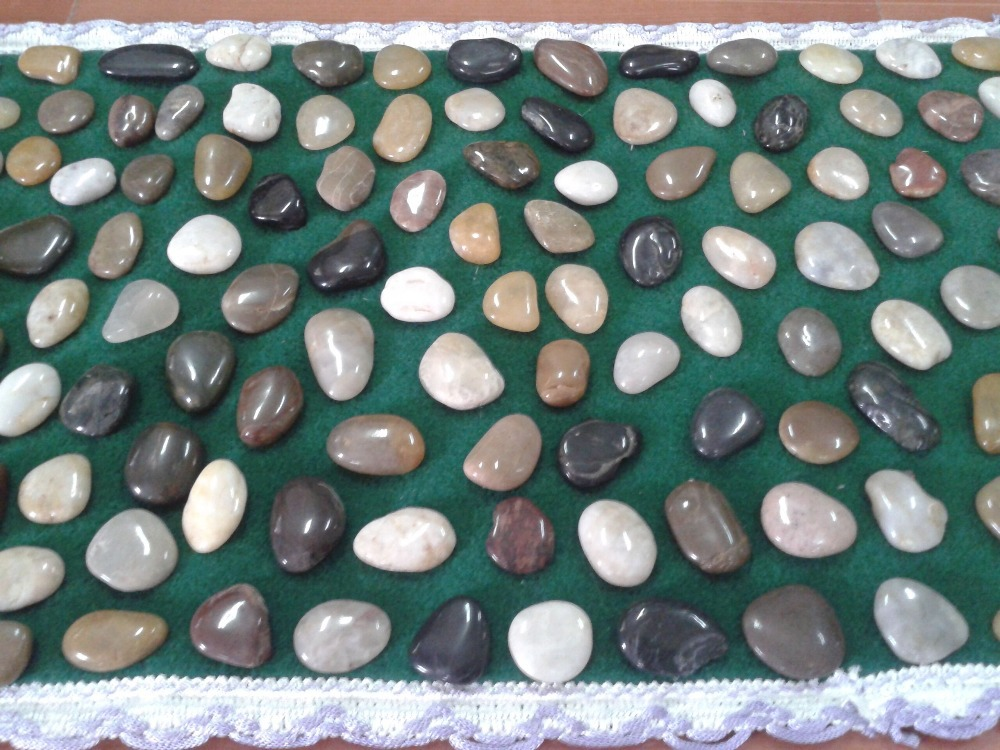 pebble stone foot massage mat