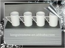 Hot Set Stone Plates and Ceramic Cups