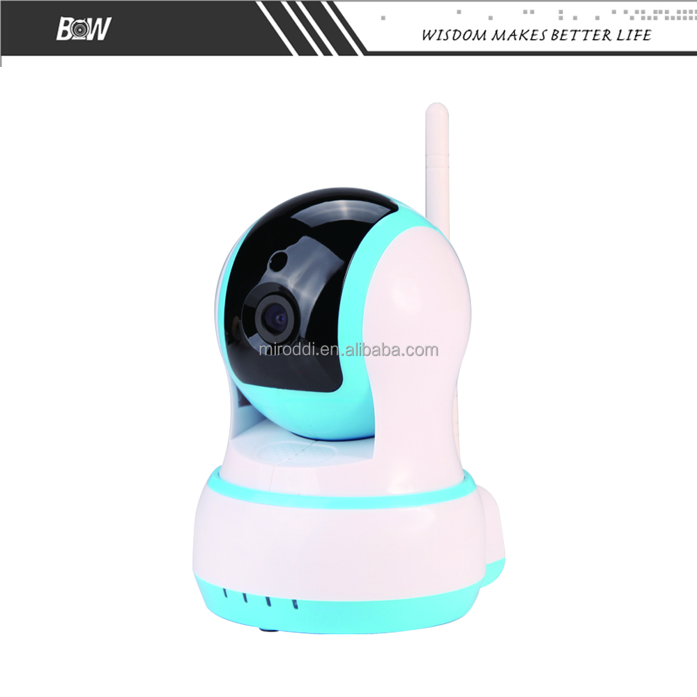 Intelligent CMOS Sensor WiFi Wireless 720P HD Pan/Tilt Network IP Camera Audio Webcam IR Night