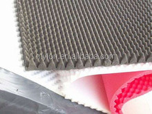 Acoustic fireproof and sound insulation/high density acoustic foam roll/ low price soundproofing foam pad