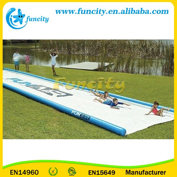 Family Events Inflatable Super Sweet Slip and Slide In 0.9mm PVC Tarpaulin