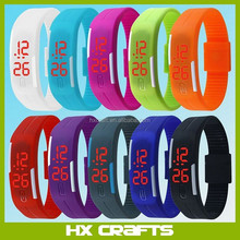 2018 New Sports Bracelet LED Watch Waterproof Unisex Sports Wrist Watch Led touch watch