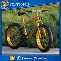 Chinese Latest Carbon Steel Frame Fat Tyre Bike Beautiful American Design Tricycle For Women