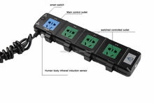 power bar 10 outlet saving smart power strip socket extension of electricity saving power outlet