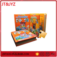 custom fish picture developmental colorful hardcover storybook for children kids