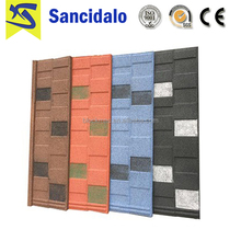 Manufacturer Supplier stone granule coated steel roof tile with discount