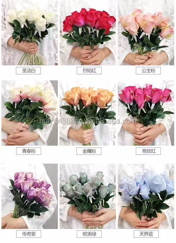 High quality new style silk roses artificial rose flowers