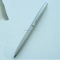 Custom Logo Printed Silver Metal Ballpoint Pen Promotional Twist Pen For Advertising Product