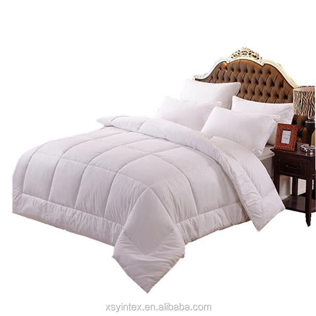 Soft Home Hotel Bedding Inner Polyester Microfiber/ Goose Duck Feather Down Duvet, Quilt, Comforter