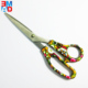 "Factory cheap price 8"" office different fancy and printed scissors"