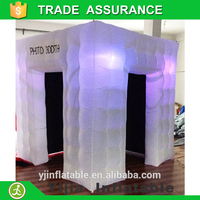 china supplier inflatable cube tent on facebook