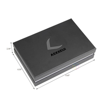 shipping logo cardboard black small wax coated box