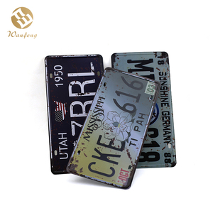 High Quality Custom Design Personalized Metal Nameplate Tin Sign